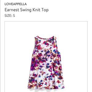 Loveapella top size small
